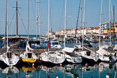 piran portowy Slovenia Zdjęcie Stock