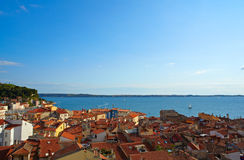 Piran roof Stock Photography