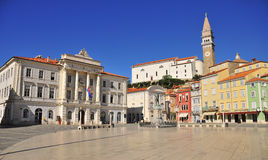 Piran's city Royalty Free Stock Images