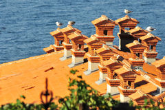 Piran's roofs Stock Photos