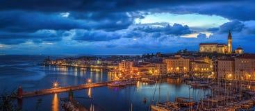 Piran, Slovénie, l'Europe Image libre de droits