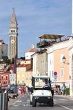 Piran in Slovenië Stock Afbeelding