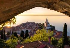 Piran, Slovenië Stock Afbeeldingen