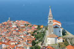 Piran, Slovenia Royalty Free Stock Photo