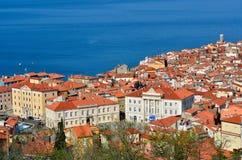 Piran, Slovenia. Historical city of Piran, Slovenia Royalty Free Stock Photos