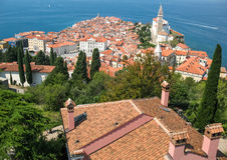 Piran, Slovenia Royalty Free Stock Photography