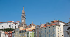 Piran, Slovenia, Tartini Square Stock Image