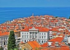 Piran Slovenia Royalty Free Stock Images