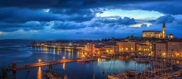Piran Slovenien, Europa Royaltyfri Bild