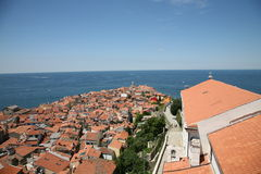 Piran, Sovenia Foto de Stock