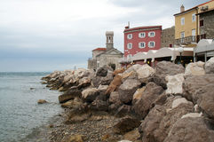 Piran-Stadt Stockfotos