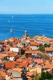 Piran stary miasteczko, Slovenia Fotografia Stock