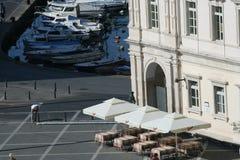 Piran_Tartini Square Stock Photo