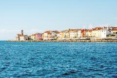 Piran town on the Adriatic sea in Slovenia Stock Photo