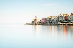 Piran town on the Adriatic sea in Slovenia Stock Photography