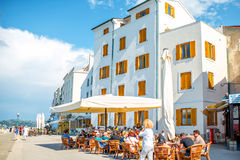 Piran town in Slovenia Royalty Free Stock Images