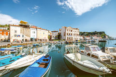 Piran town in Slovenia Royalty Free Stock Photos