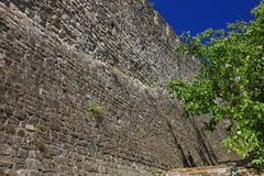 Significant parts of the fortification walls are well preserved Royalty Free Stock Images