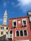 Piran - Venetian House Royalty Free Stock Photos
