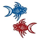 Piranha ψαριών Στοκ Εικόνες