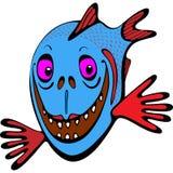 Piranha del pesce Immagini Stock