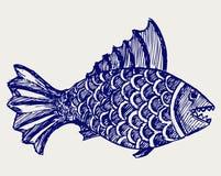 Piranha ryba Obrazy Stock