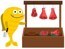 Piranha's shop Stock Image