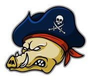 Piratów wieprze Royalty Ilustracja