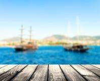 Pirat łódź Obraz Royalty Free