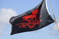 pirat bandery s Zdjęcie Royalty Free