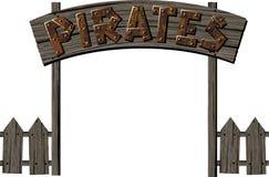 Pirat brama Fotografia Stock