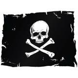 pirat chorągwiana czaszka Zdjęcia Royalty Free