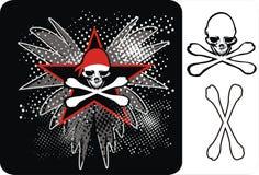 pirat czaszki Fotografia Stock
