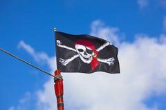 Pirat flaga Obrazy Royalty Free