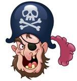 Pirat głowa Obraz Stock
