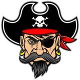 Pirat maskotka royalty ilustracja
