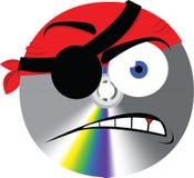 Pirat muzyka Zdjęcie Stock