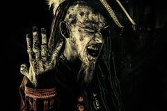 Pirat pokazuje pierścionki Obrazy Royalty Free