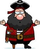 Pirat verwirrt lizenzfreie abbildung
