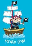 Pirat załoga chłopiec Fotografia Stock