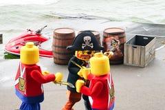Pirat zatoczki przedstawienie Obraz Stock