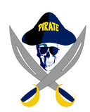 Pirata Fotografia Stock Libera da Diritti