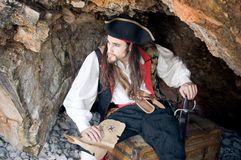 Pirata Fotografie Stock Libere da Diritti