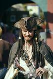 pirata 2008 e danzatore di festival di rinascita Immagine Stock Libera da Diritti