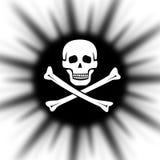 Pirata ilustração royalty free