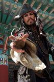Pirata in Asia Fotografie Stock Libere da Diritti