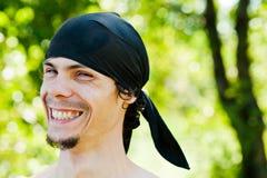 Pirata astuto Imagen de archivo libre de regalías
