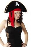 Pirata atractivo Imágenes de archivo libres de regalías