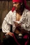 Pirata atractivo Fotos de archivo