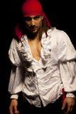 Pirata atractivo Foto de archivo libre de regalías